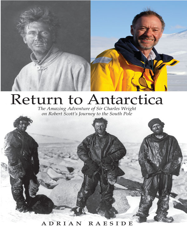 Cover of Return to Antarctica by Adrian Raeside